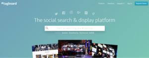 сервис крауд-маркетинга Tagboard