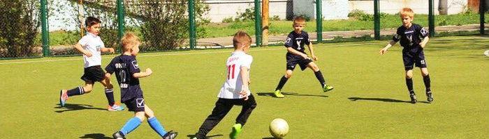 Контекстная реклама детской футбольной академии