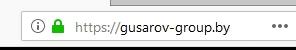проверка зеркала сайта через адресную строку