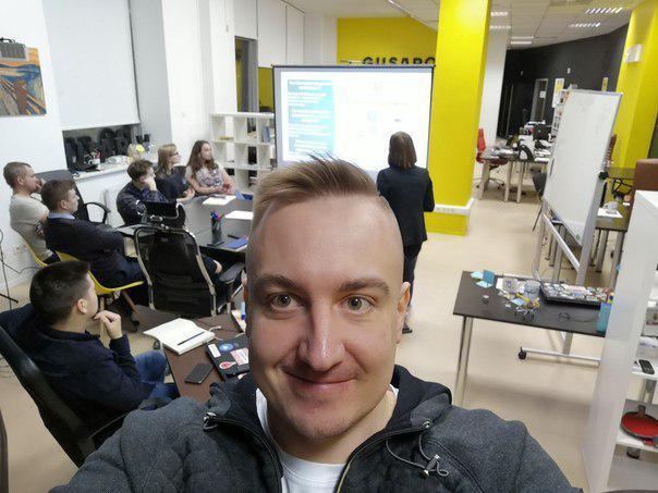 В офисе GUSAROV